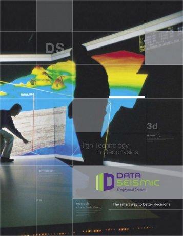 Propuesta Tecnica - DATASEISMIC