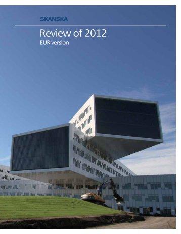 Review of 2012 – EUR - Skanska