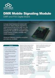 DMR Mobile Signaling Module - Etherstack