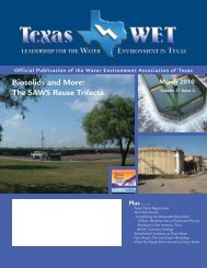 March 2010 - Water Environment Association of Texas