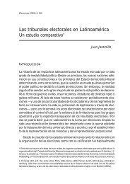Los tribunales electorales en Latinoamérica - ONPE