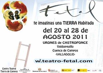 Programa FETAL 2011