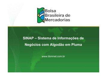 Sistema de Informações de Negócios com Algodão em Pluma