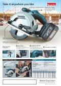 """BSS611 165mm (6-1/2"""") Cordless Circular Saw - Makita - Page 2"""