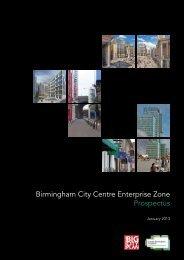 Download the Birmingham City Centre Enterprise Zone Prospectus