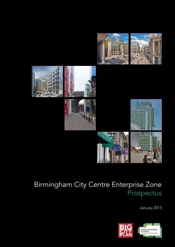 Download the Birmingham City Centre Enterprise Zone Prospectus