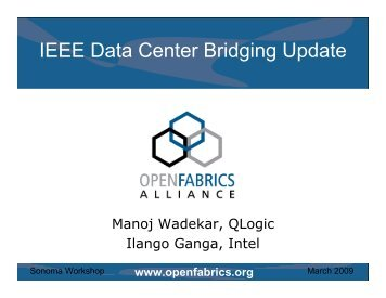 IEEE Data Center Bridging Update