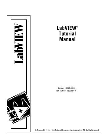 LabVIEW Signal Processing Course Manual