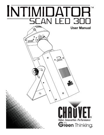 Intimidator_Scan_LED_300_UM_Rev7_WO - CHAUVET® Lighting