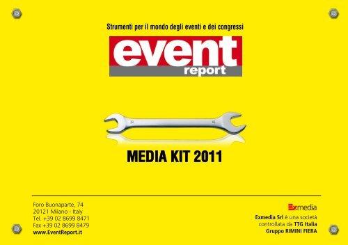 Scarica il Media Kit 2011 - Event Report