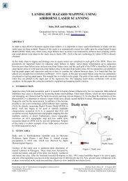 Landslide Hazard Mapping Using Airborne Laser ... - Mailer Fsu