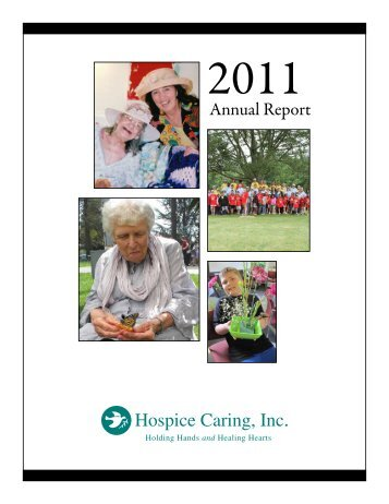 2011 HCI Annual Report - Hospice Caring