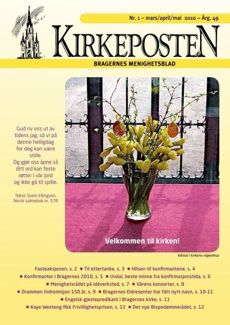 Nr. 1 mars-mai 2010 - Den norske kirke i Drammen
