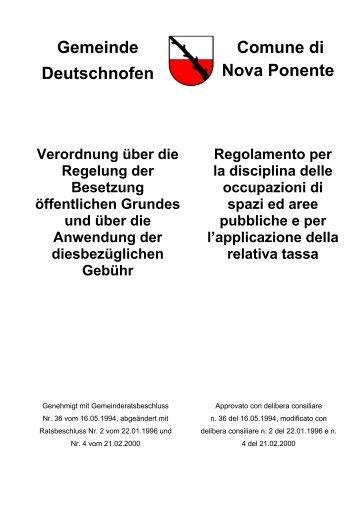 Besetzung öffentlichen Grund (527 KB) - .PDF
