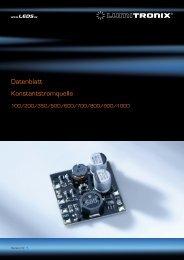 Datenblatt Konstantstromquelle - LEDS.de