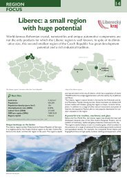 Liberec: a small region with huge potential - CzechInvest