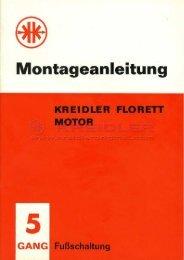 Montageanleitung - Kreidler Original