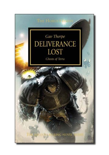 an extract of Deliverance Lost - The Black Library