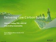 Delivering Low Carbon Buildings