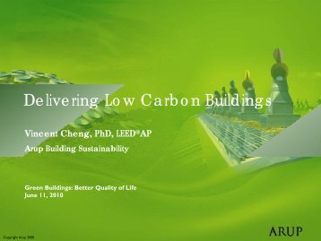 Delivering Low Carbon Buildings