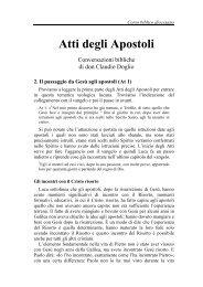 02) Da Gesù agli apostoli - Symbolon.net