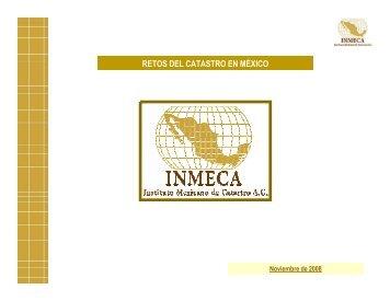 Retos del Catastro en México