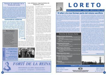 Loreto 31 - Tinet