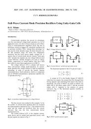 Full-Wave Current-Mode Precision Rectifiers Using Unity-Gain Cells