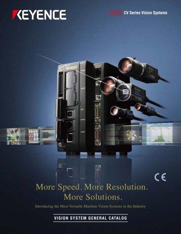 Speed. More Resolution. More Solutions. - Cincinnati Automation