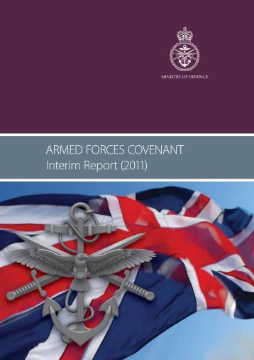 Armed Forces Covenant Interim Report 2011 - Veterans Agency