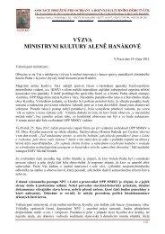 Výzva ministryni - Zachraňte lázně Kyselka