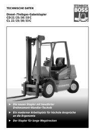 Diesel-/Treibgas-Gabelstapler CD 22 / 25 / 30 / 33 ... - Lectura SPECS