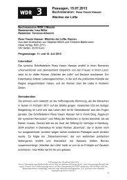 Wächter der Lüfte (PDF-Download: 90,5 KB) - WDR 3