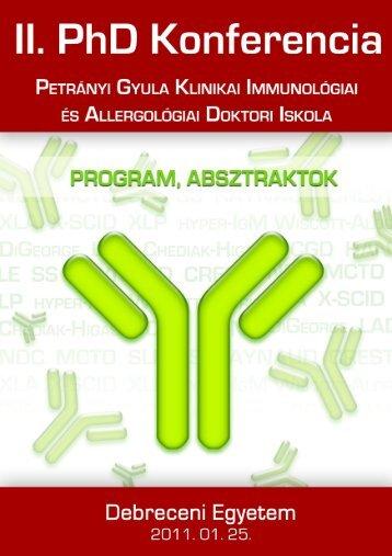 Untitled - Petrányi Gyula Klinikai Immunológiai és Allergológiai ...