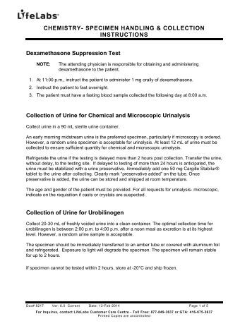 stool specimen collection instructions