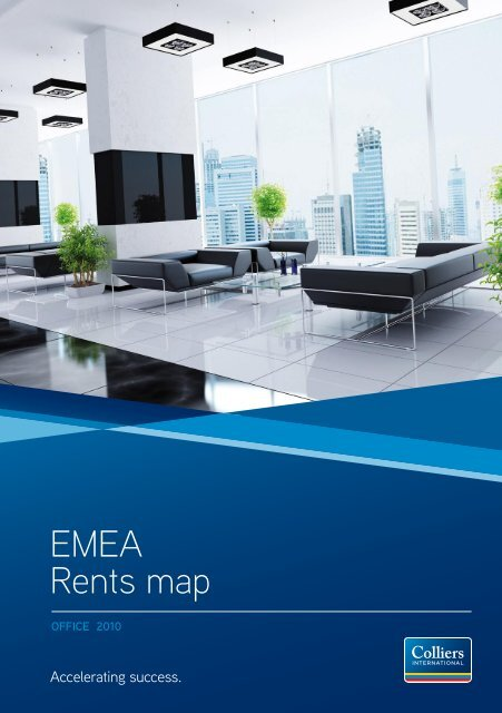 EMEA Rents map - Colliers International Zurich