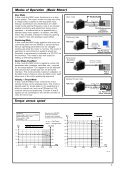 The MAC motor. AC-servo motor with integrated ... - agenzia ing. pini - Page 3