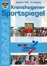 Dezember 2009 45. Jahrgang - TSV Kronshagen