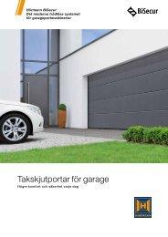 Takskjutportar för garage - Hörmann