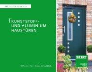 HaustÜREn - HBI Holz-Bau-Industrie GmbH & Co. KG