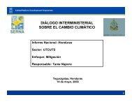 diálogo interministerial sobre el cambio climático - UNDPCC.org