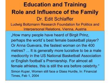 Edit SCHLAFFER - EWS European Women and Sport