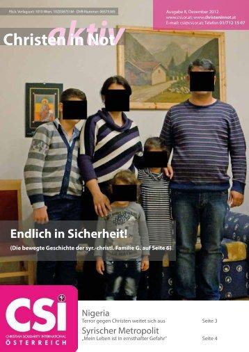 Ausgabe 08/2012 - CSI Österreich