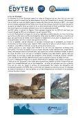 Gîte refuge de La Julianne Tél : (33) - Edytem - Page 3