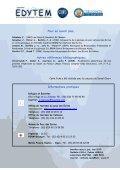 Gîte refuge de La Julianne Tél : (33) - Edytem - Page 6