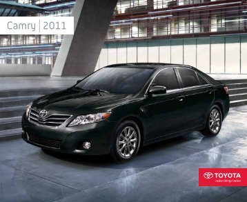 Camry 2011 - Toyota Canada