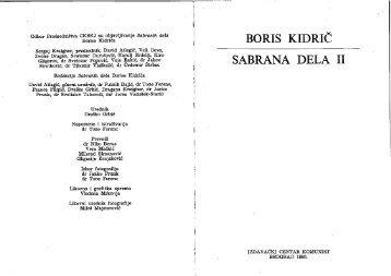 Kidrič, Boris, Izabrana dela II, Izdavački centar Komunist, 1985.pdf