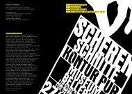 Scherenschnitte Kontur pur Museum Bellerive 27. November 2009 ...