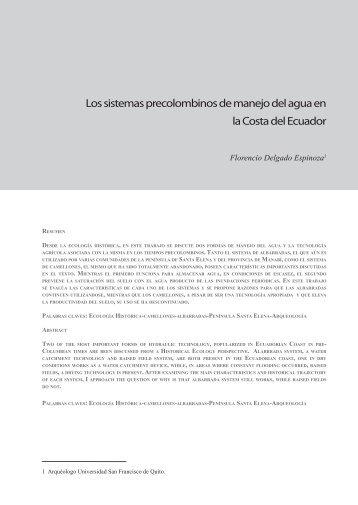 revista 11.indd - Arqueología Ecuatoriana