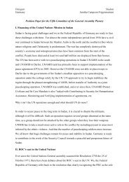 Position Paper Annika Kvist Federal Repulic of Germany - munol
